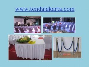 rental kursi dan tiang antrian di Jakarta