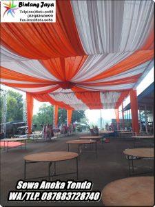 Tenda Dekorasi VIP Tenda Dekorasi Gelombang