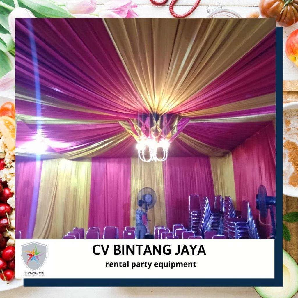 Sewa Tenda Mewah Murah Dekorasi Nanas Jakarta Kota