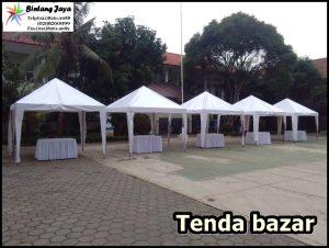Menyewakan Tenda Kerucut Atau Tenda Bazar Bekasi WA 0857-7733-3808