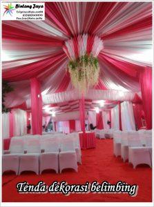 Menyewakan Tenda Pernikahan Meriah Aman Dan Nyaman Di Jakarta
