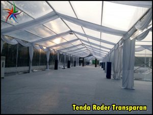 Sewa Tenda Roder Transparan