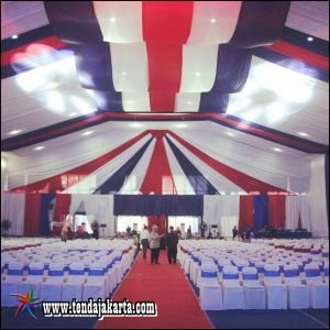 Sewa Tenda Roder Dekorasi Gelombang Jakarta Selatan