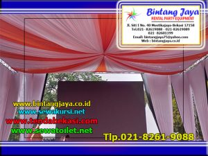 sewa tenda dekorasi sentris