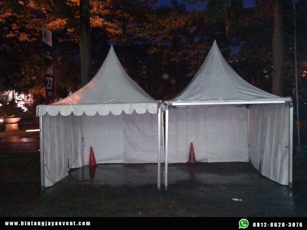 Sewa Tenda Sarnafil Ratusan Unit Beragam Ukuran dan Berkualitas
