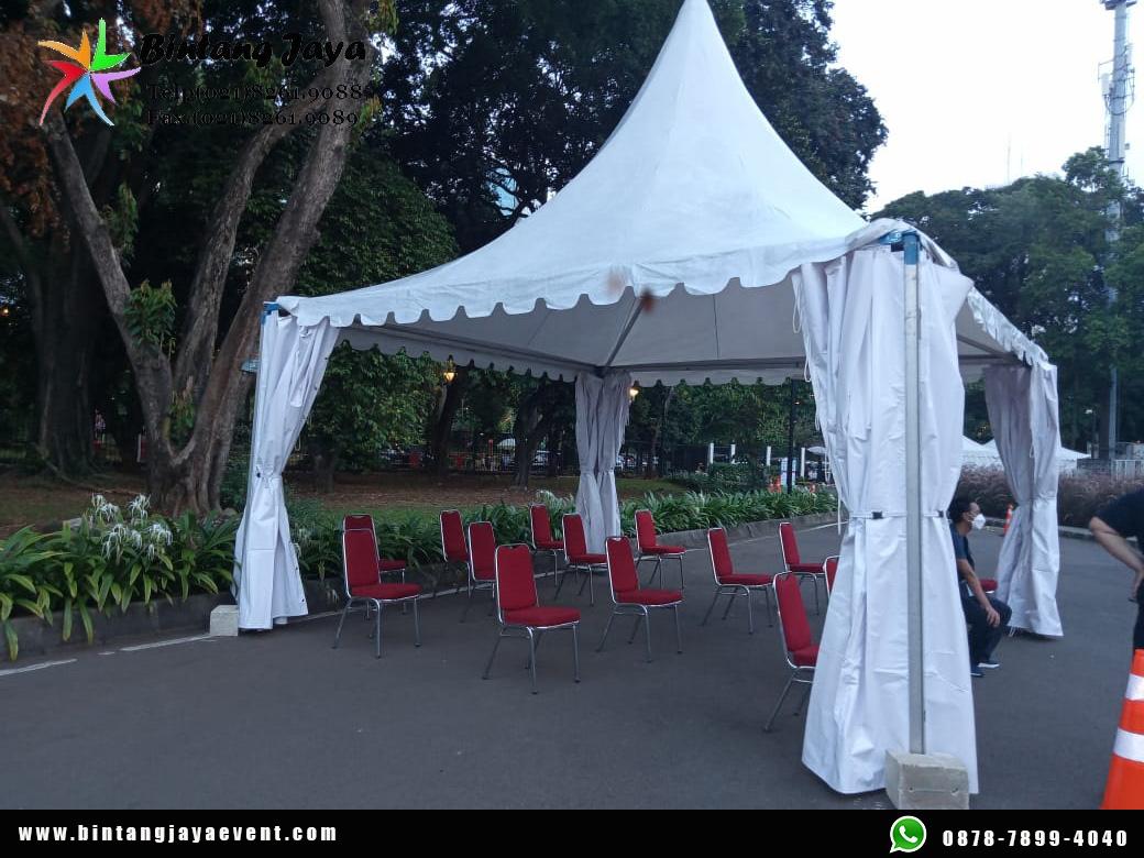Sewa Tenda Sarnafil Premium Quality Sangat Populer & Praktis