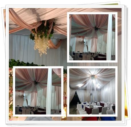Rental Tenda Dekorasi Pernikahan-Party Equipment
