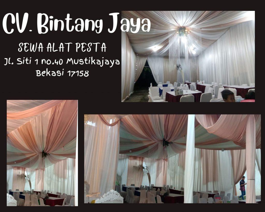 Dekorasi Tenda-Jasa Rental Tenda Pesta Pernikahan