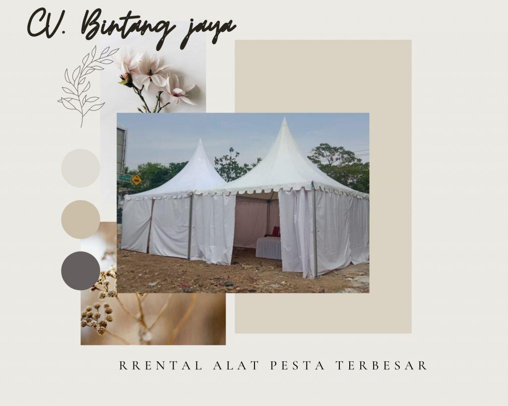 Rental Tenda Kerucut Stand Bazar