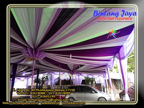 Menyewakan Tenda Dengan Pilihan Model Dekorasi